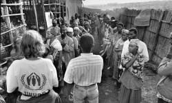 Rwandan refugees in Burundi